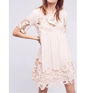 Anthropologie Magnolia Lace Dress by Holding Horse
